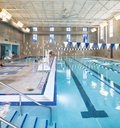 Coa ymca north austin community recreation center austin for Garden city ymca pool schedule