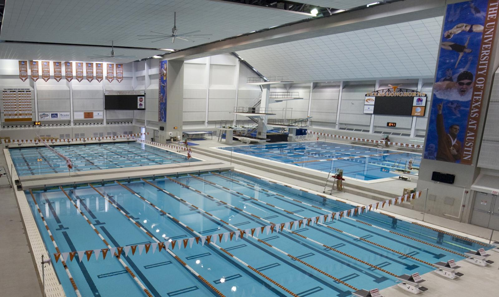 University of texas lee and joe jamail swim center hvac for Pool design utah